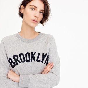 JCrew Brooklyn Pullover Sweatshirt